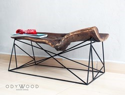 KOVUK Bench & Coffee Table
