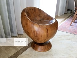 nosa-log-chair