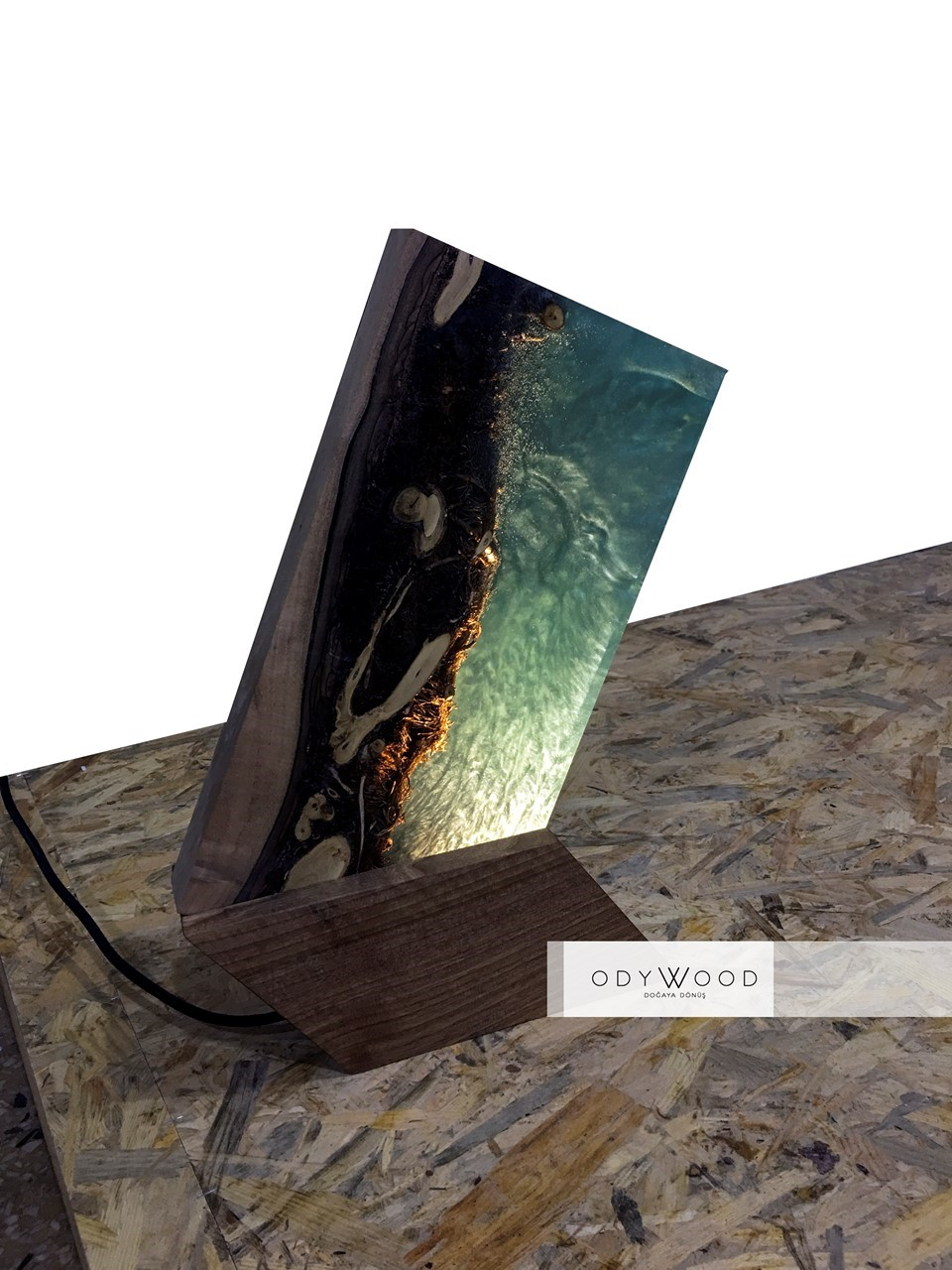 IVY Epoxy Lamp - Single Production'in resmi
